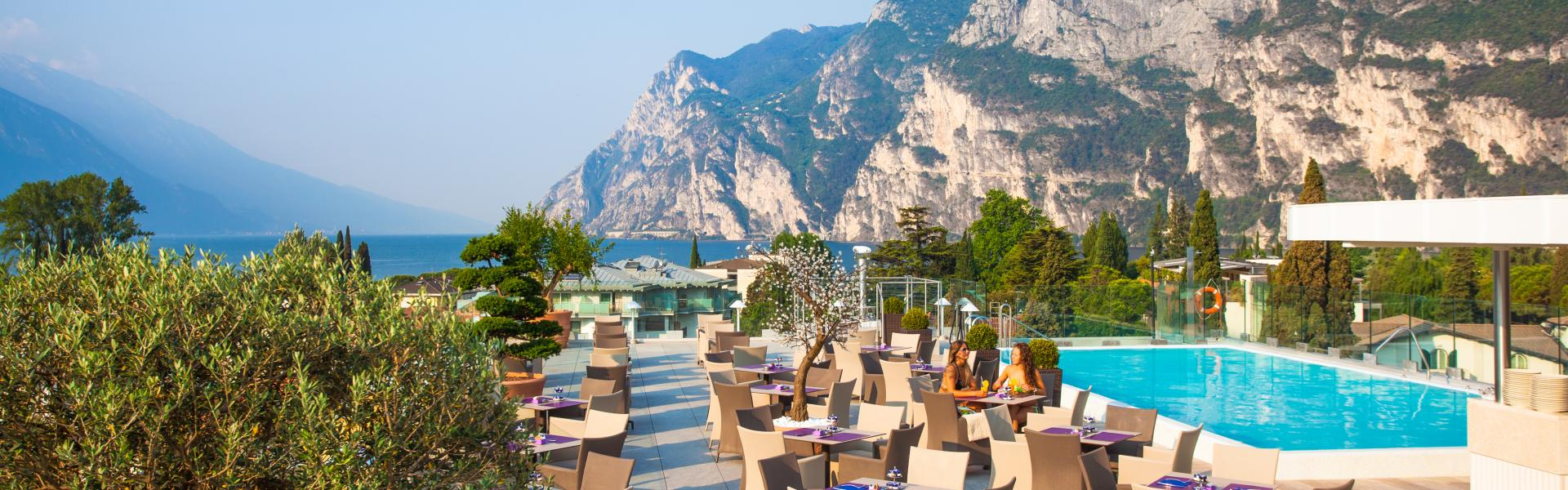 Hotel Kristal Palace 4 Sterne Superior Riva Del Garda Gardasee