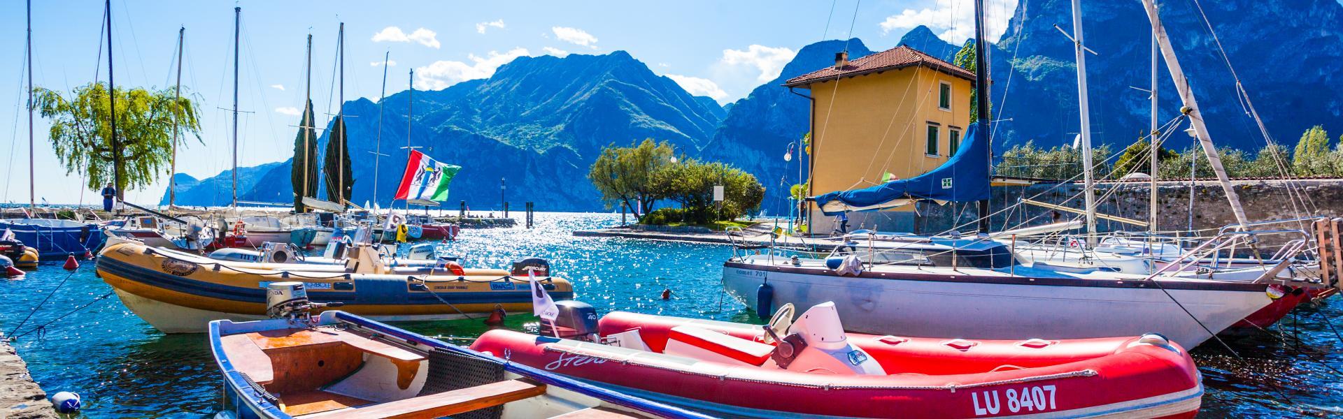 Hotel Kristal Palace: 4 star Superior Riva del Garda Lake